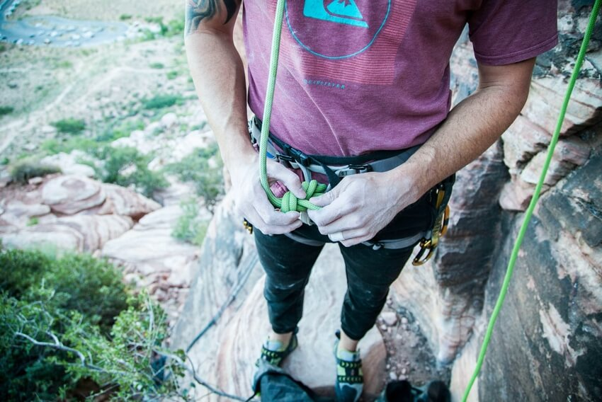 Abseiling The Right Setup